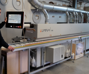 Reference custumor Pfefferle is delighted by the new edgebander LUMINA 1380